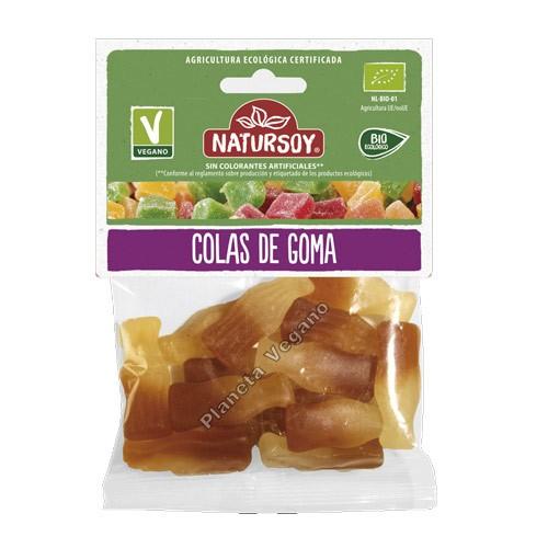 Gomitas Vegetales de Cola, 75g. Natursoy