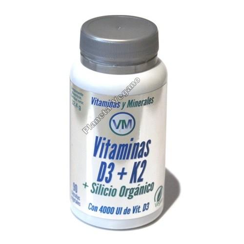 Vitaminas D3+K2+Silicio Orgánico, VM
