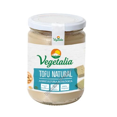 Tofu Natural en Frasco de CRISTAL, 400g. Vegetalia