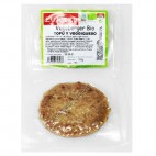 Vegeburger de Tofu y Queso Vegano, 150g. Zuaitzo