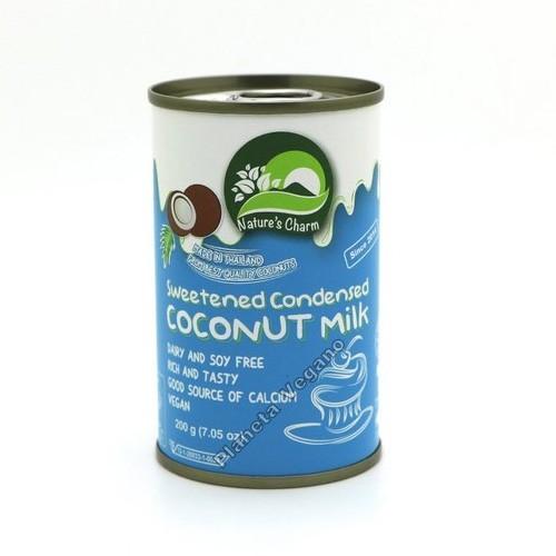 Leche Condensada de Coco, 200 g Nature´s Charm
