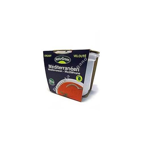 Crema de Tomate Mediterránea en tarrina de 310 g - Naturgreen