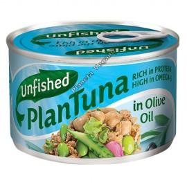 Atún Vegano En Aceite de Oliva, 150 g Unfished Plantuna