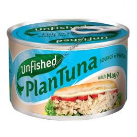 Atún Vegano en mayonesa, 150 g Unfished Plantuna