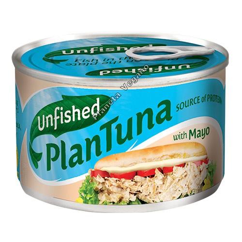 Atún Vegano con Mayonesa, 150 g Unfished Plantuna