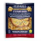 Queso Vegano estilo 4 quesos RALLADO, 100g. Flax&Kale