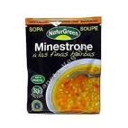 Sopa instantánea Minestrone a las Finas Hierbas 40 g - Naturgreen