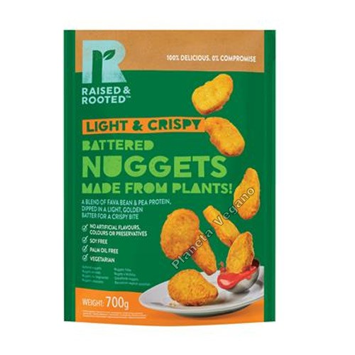 Nuggets Veganos, 700g. Raised&Rooted