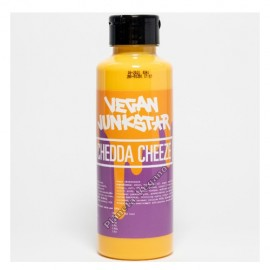 Salsa de Queso Cheddar Vegano, 500g. JunkStar