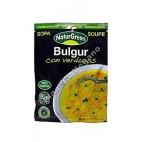 Sopa instantánea Bulgur con Verduras 40 g - Naturgreen
