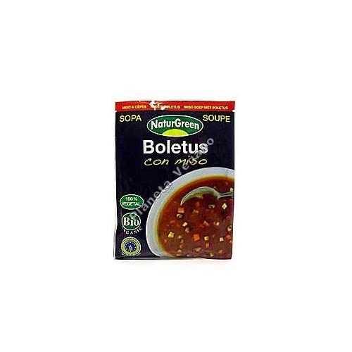 Sopa instantánea de Boletus con Miso 40 g - Naturgreen