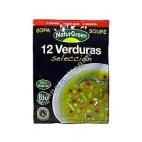 Sopa instantánea de 12 verduras de 40 g - Naturgreen
