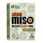 Sopa de Miso con Calabaza y Verduras 60 g. King Soba