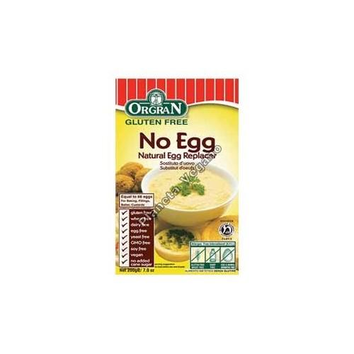 Sustituto del huevo No Egg, 200g Orgran