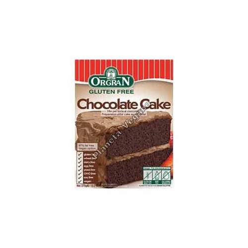 Mezcla para Pastel de Chocolate, 375g. Orgran