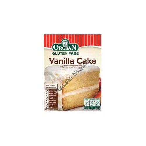 Mezcla para Pastel de Vainilla, 375g. Orgran