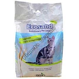 Arena Biodegradable para gatos Ecosand