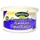 Paté con almendra, pepino y eneldo, 125g. Naturgreen