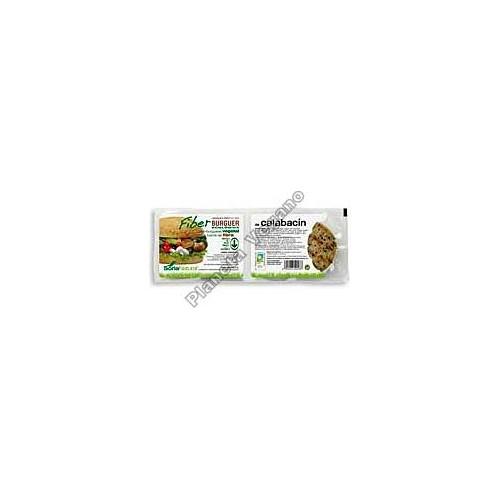 Fiber Burger con Calabacín, 200g. Soria Natural
