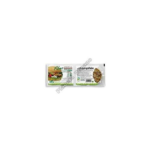 Fiber Burger con Champiñón, 200g. Soria Natural
