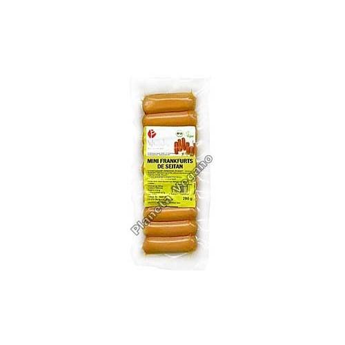 Salchichas Mini Franckfurts de Seitan, 200g. Wheaty