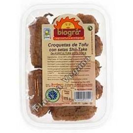 Croquetas de Tofu y setas Shii-take, 175g. Biográ