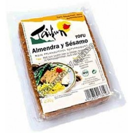 Tofu Ahumado Almendra y Sésamo, 200g. Taifun