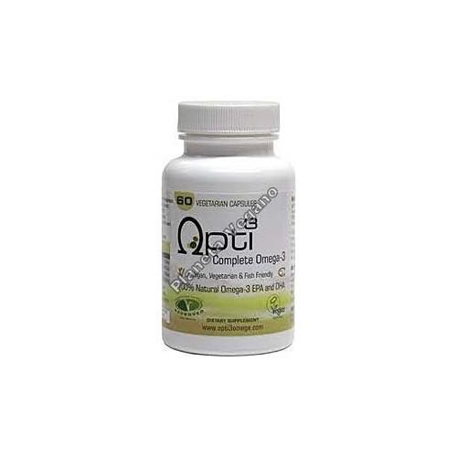 Opti3 Omega 3 EPA/DHA Apto para veganos