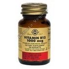 Vitamina B12 1000 µg (Cianocobalamina) Solgar