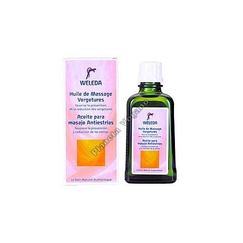 Aceite para Masaje Antiestrías, 100 ml Weleda
