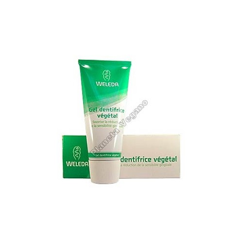 Gel Dentífrico Vegetal, 75 ml. Weleda