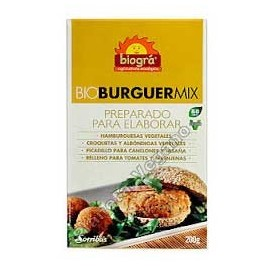 Bio Burger Mix 200g. Biográ