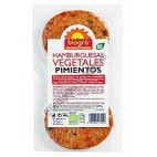 Burger Vegetal de Pimientos, 160 g. Biográ
