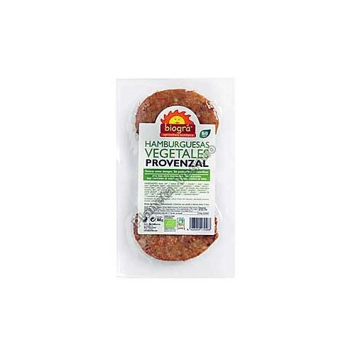 Burger Vegetal Provenzal, 160 g. Biográ