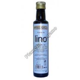 Aceite de Lino Dorado de cultivo ecológico, 250 ml. Mandolé