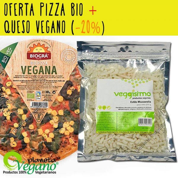 Oferta Pack Pizza Vegana