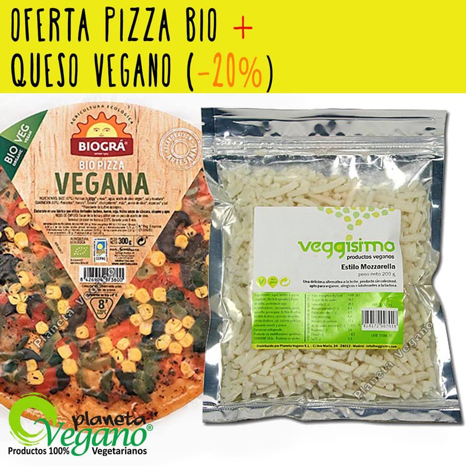 Oferta Pack Pizza Vegana